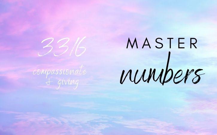 33/6 master number